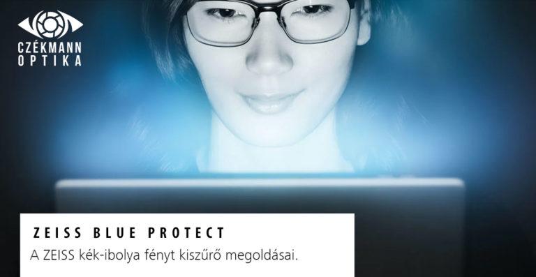 kékfényszűrős szemüveg