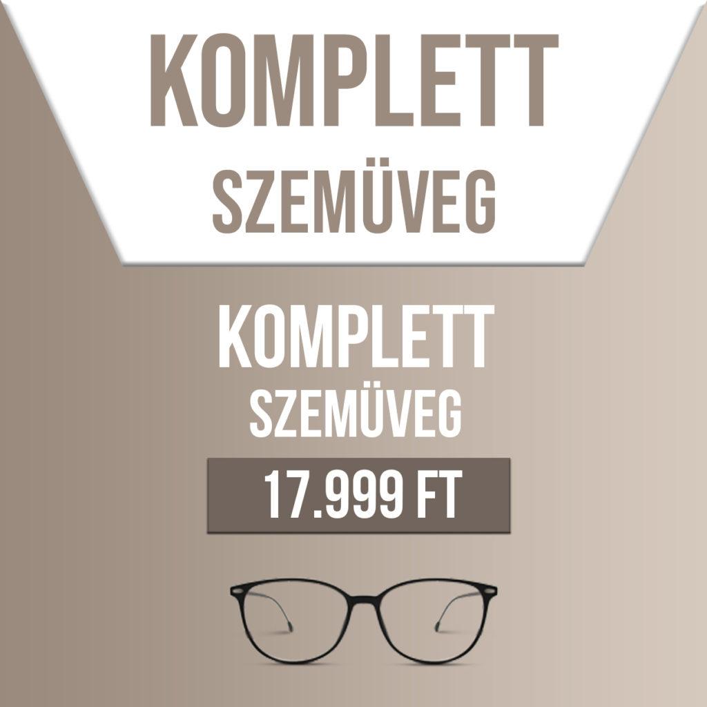 Komplett szemüveg